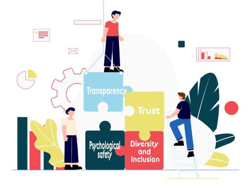 Transparency Trust Illustration