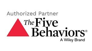 The Five Behaviours authorized partner logo